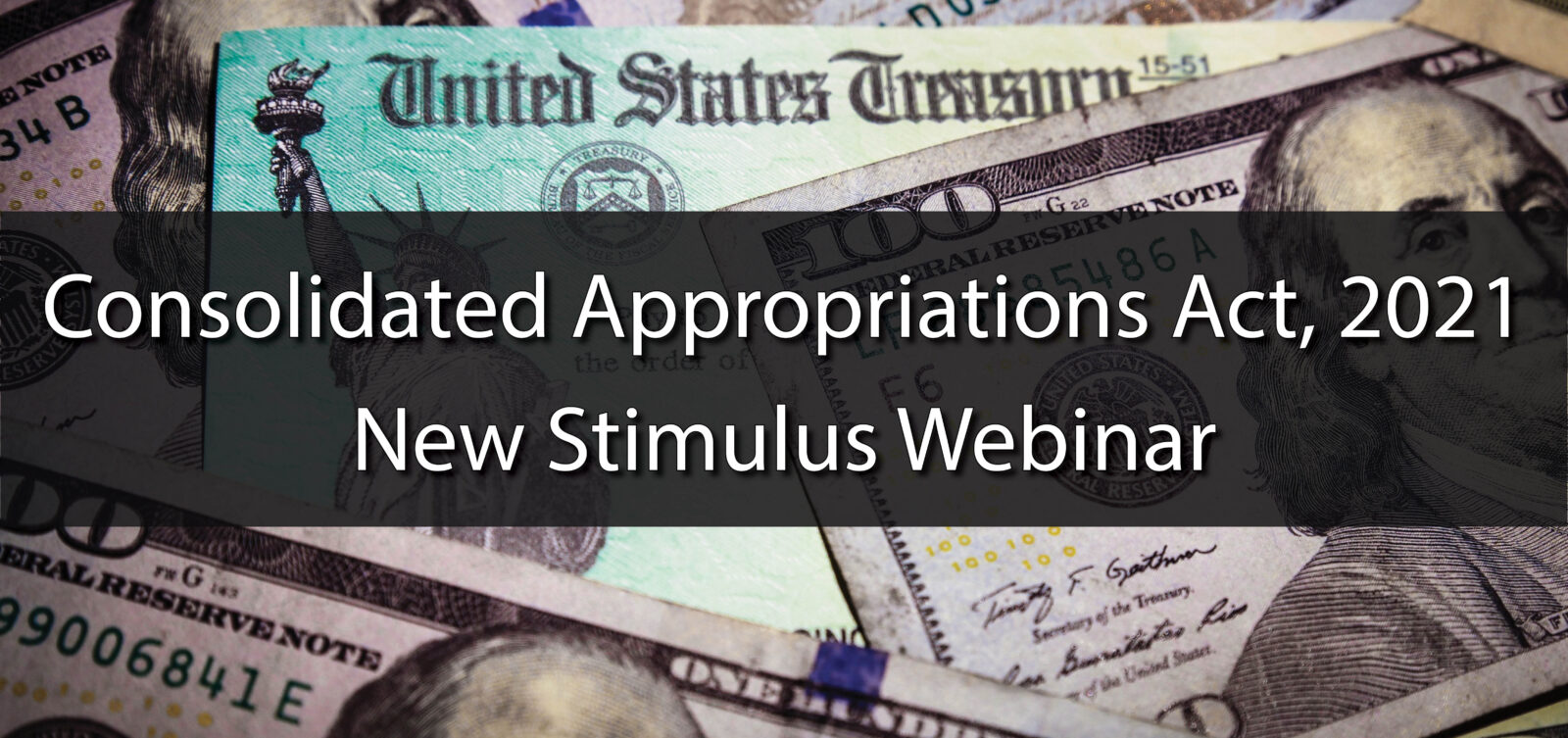 consolidated appropriations act webinar